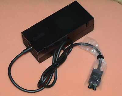Genuine Microsoft OEM XBOX ONE Power Supply Brick Adapter 220V with Cable Cord