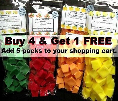 40 pc Wax Melts 8 oz Chunks Chips Candle Tarts Scents Home Fragrances New