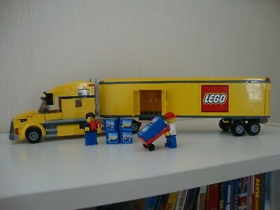 Lego 3221 Lego City Truck Complete With Instructions 1600
