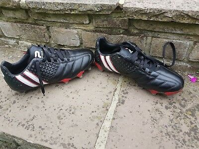 Rugby boots, Patrick Power X, size 7.5 excellent condition, black & red
