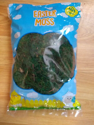 Moss dried Green, 40g, craft use, NEW