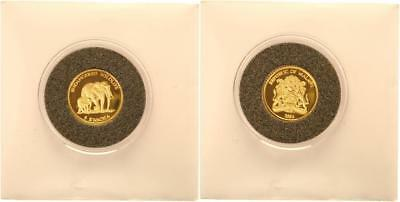 Malawi 5 Kwacha 2004 - Endangered Wildlife - PP in Kapsel - GOLD