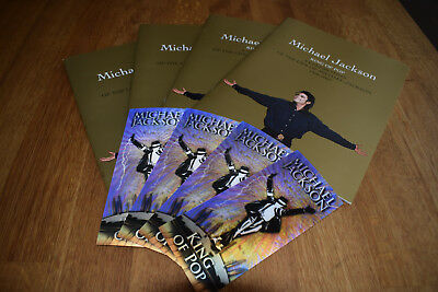 michael jackson this is it tickets and programs, 4no
