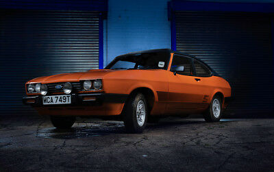 Ford capri mk3 1979 2.0 Ghia auto MOT'd and sprayed but needs further work