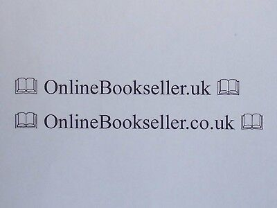 Two Premium Domain Names For Sale OnlineBookseller.co.uk & OnlineBookseller.uk