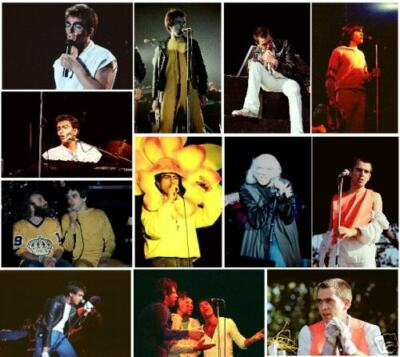 25 Peter Gabriel concert photos 1977/78/79/82/83 2004