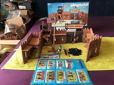 Playmobil 3420  Fort Union + OVP -  Top Zustand!