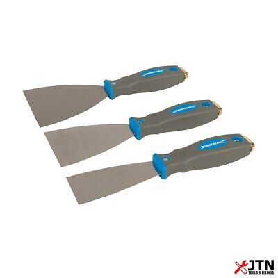 3 Piece Silverline 661661 Expert Filling Filler Knife Set 50mm, 75mm, 100mm