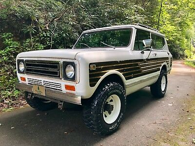 1979 International Harvester Scout Off Road Package 1979 International Scout II - Original Survivor from Gordon's Garage -NO RESERVE