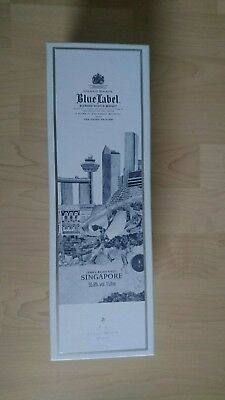 Johnnie Walker Blue Label Willow Collection Singapore 1L