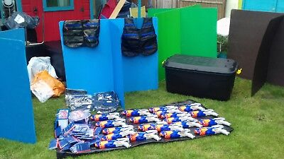 Mobile kids NERF party business for sale