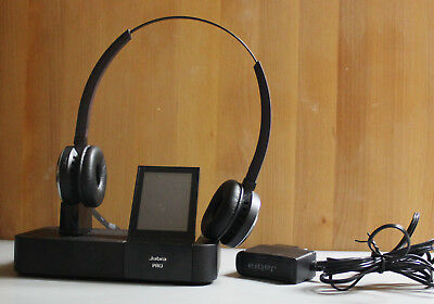 Jabra PRO 9400 BS Headset 9460 Duo mit Touchscreen Profi-Headset DSP DECT