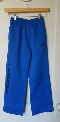 Under Armour Athletic Sweatpants Sz Youth Small Blue