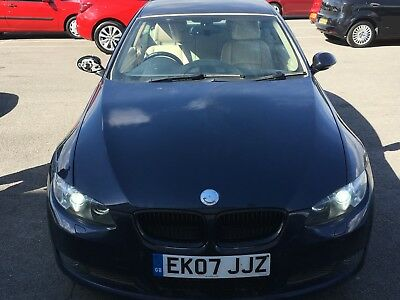 """L@@k 2007 Bmw 335D Coupe Auto """"07"""" Reg*spares Or Repairs* Finance Repo,280 Bhp"""