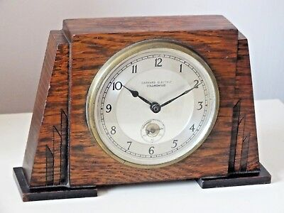 GARRARD ELECTRIC of COLLINGWOOD SYNCHRONOUS ELECTRIC CLOCK 230-250 v AC Working.