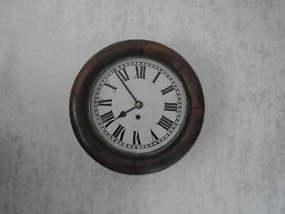 Antique Astral Coventry Fusee Wall Clock Good Quality