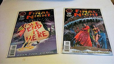 The Final Night 1,and 2 1996 DC Near Mint