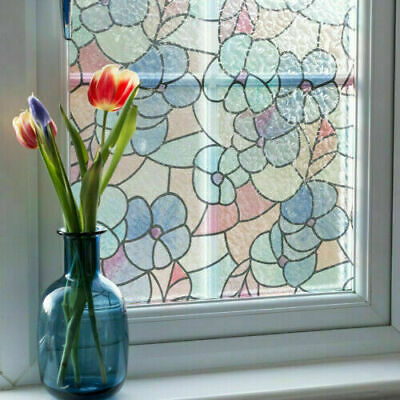 d-c-fix Static Cling Vinyl Window Film Stained Glass Lisboa Spring 45m x 1.5m