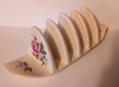Collectable 1950s Axe Vale Pottery - Devon & Torquay - Toast /Letter/Napkin Rack