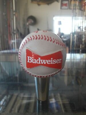 Vintage Baseball Beer Tap Bar Tapper Handle Budweiser This Buds For You