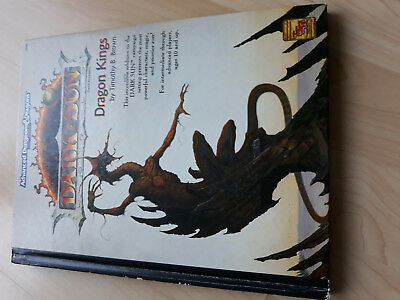 AD&D 2nd Dark Sun Dragon Kings TSR 2408