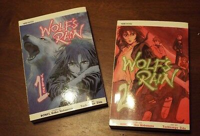 Wolf's Rain Manga Vol. 1-2 *Complete Series* English, excellent cond.