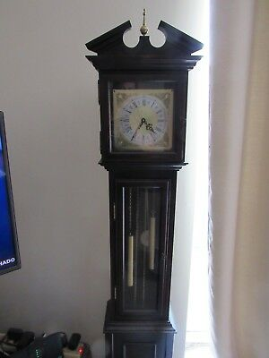 Granddaughter Longcase Clock. V Good condition and working