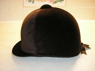 Champion Brown Riding Hat*size 7 1/4* With Strap* Brand New Unworn*