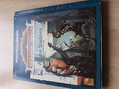 AD&D 2nd Dark Sun Arcane Shadows TSR 2410