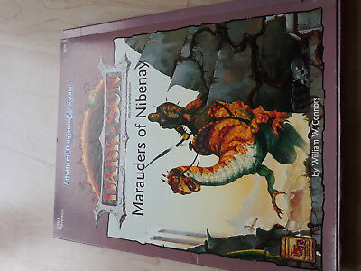 AD&D 2nd Dark Sun Marauders of Nibenay TSR 2424