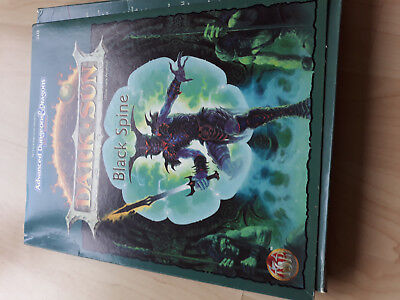 AD&D 2nd Dark Black Spine TSR 2428