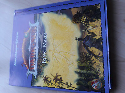 AD&D 2nd Dark Sun Forest Maker TSR 2430
