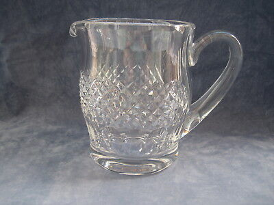 Waterford Crystal Coleen Large Jug Pitcher Signed Perfect 36 fl. oz