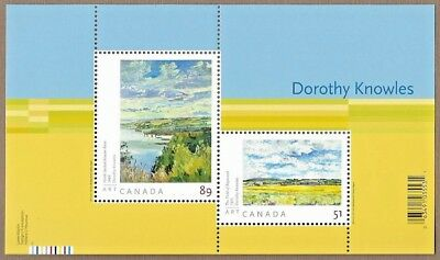Canada Stamps — Souvenir sheet —  Art, Dorothy Knowles — #2148 —  MNH