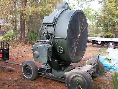 Ge Searchlight   Wwii