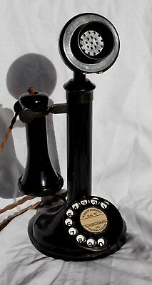 GPO CANDLESTICK TELEPHONE 150 from 1929. Superb condition, carefully restored.