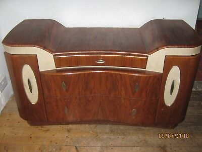 Antique sideboard - Retro Style (30s/40s?) - Mid brown