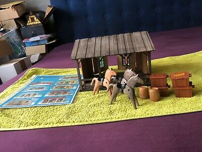 Playmobil 3428  Western Stall& Magazin