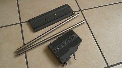 Genuine Arri Bridge Plate. BP-5 with rods and dovetail tripod plate