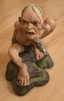 "Sideshow Weta ""Gollum"" Statue Rar (#3191 / 7500) Top Zustand / Perfect Condition"