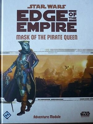 Star Wars - Edge of the Empire: Mask of the Pirate Queen (Topzustand)