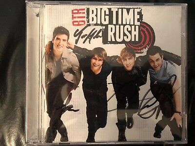 Autographed Big Time Rush : BTR CD. All Four members Signed The Album!