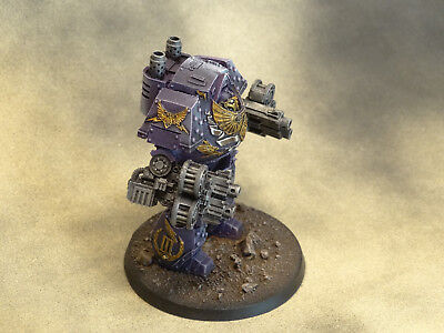 Forgeworld Emperors Children Contemptor Mortis Dreadnought gut bemalt