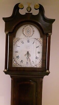 Wain of Alfreton long case clock