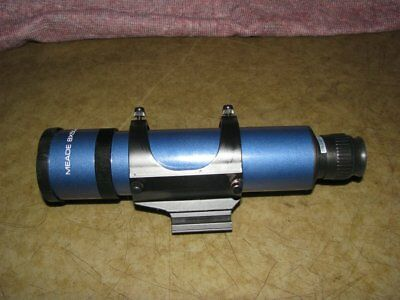 MEADE 8 x 50 FINDERSCOPE with REAR FOCUS and UPGRADED MOUNT