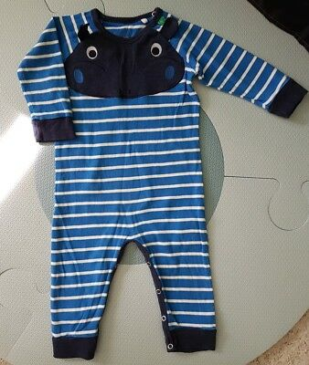 Fred's World by Green Cotton Overall Jumpsuit Größe 74