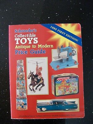 Collectible Toys Antique Modern Price Guide & Identification Schroeders 1995
