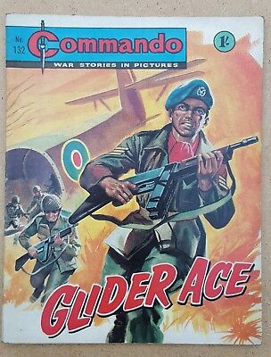 Vintage Commando comic issue #132