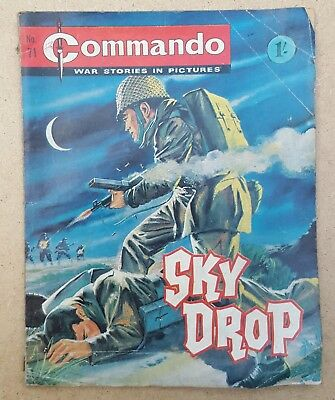 Vintage Commando comic issue #71