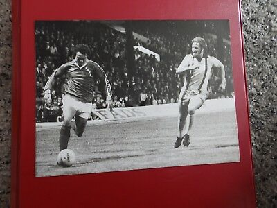 Press photo Martin Robinson, Charlton Athletic & Paul Went, Orient 1978